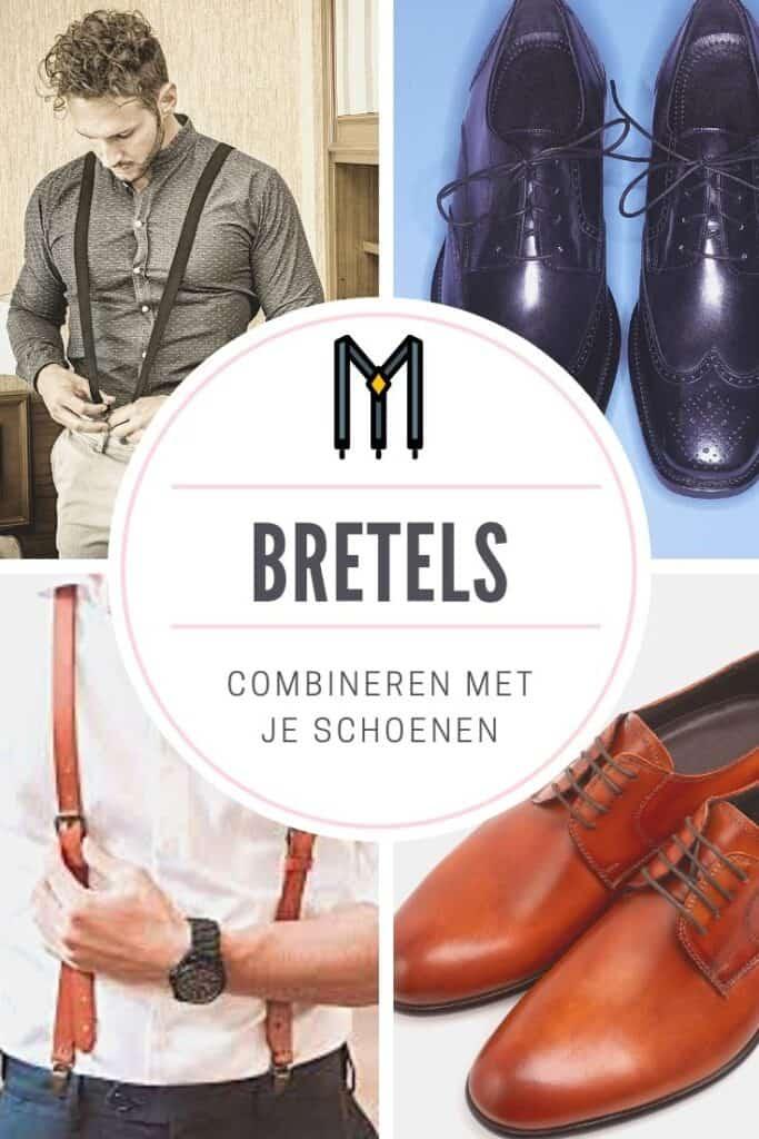 Bretels voor op kantoor kun je simpel combineren met je schoenen