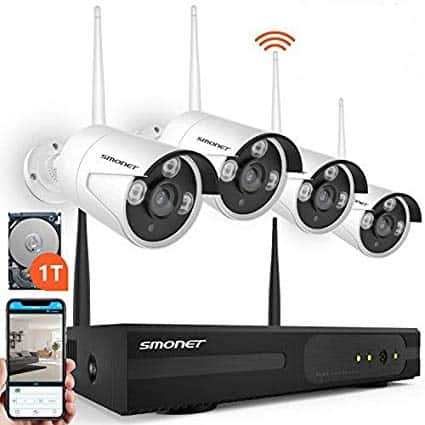 Smonet Security Camera set